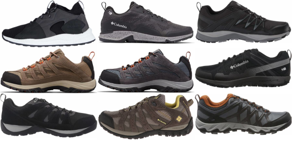 buy columbia waterproof hiking shoes for men and women