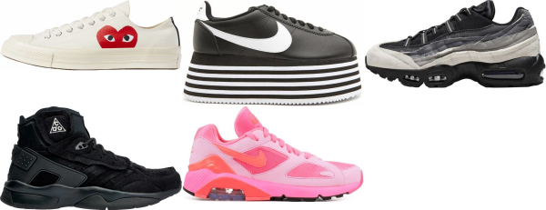 buy comme des garcons sneakers for men and women
