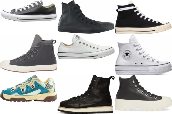 buy converse leather sneakers for men and women