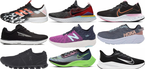buy cushioned lightweight running shoes for men and women