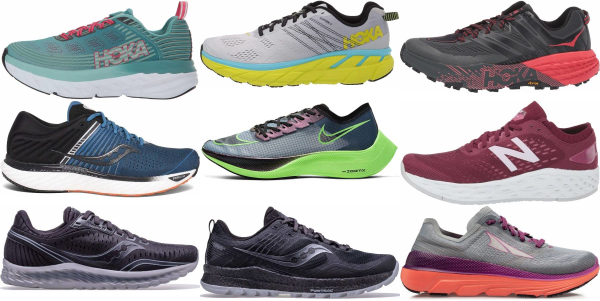 buy cushioned maximalist running shoes for men and women