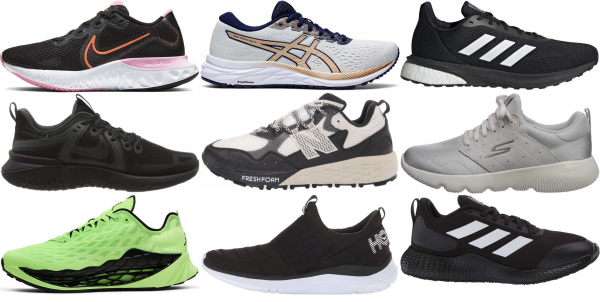 buy cushioned minimalist running shoes for men and women