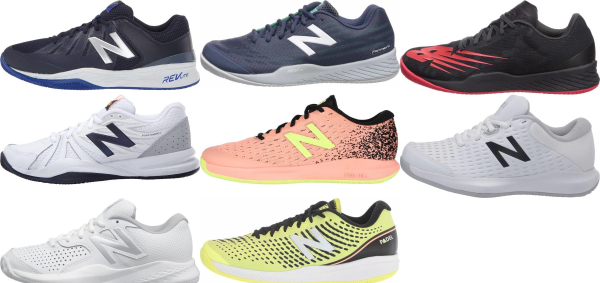 buy cushioned new balance tennis shoes for men and women