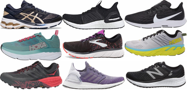 buy cushioned running shoes for men and women