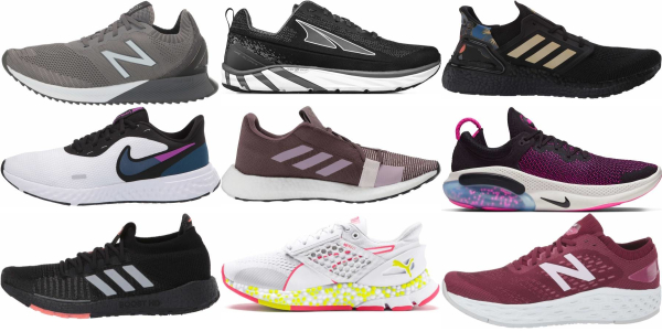 buy daily running knit upper running shoes for men and women