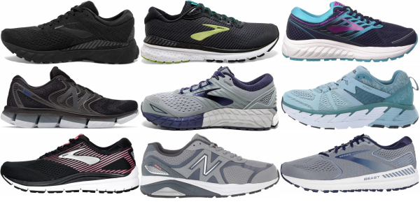 buy daily running  severe overpronation running shoes for men and women
