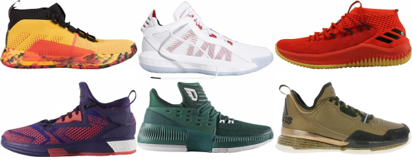 buy damian lillard basketball shoes for men and women