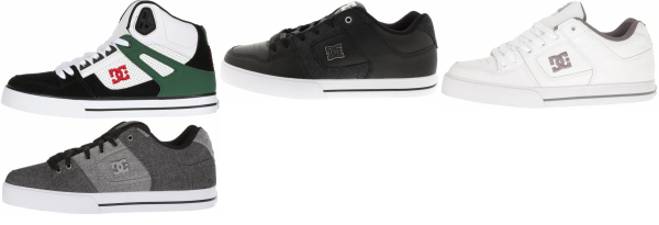 buy dc pure sneakers for men and women