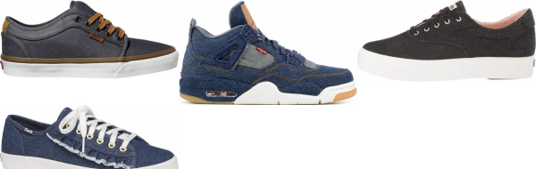 buy denim sneakers for men and women