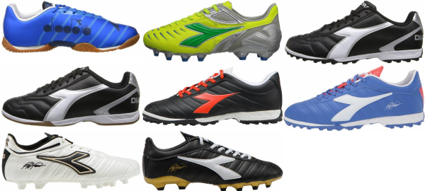 buy diadora low top soccer cleats for men and women