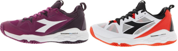 buy diadora tennis shoes for men and women