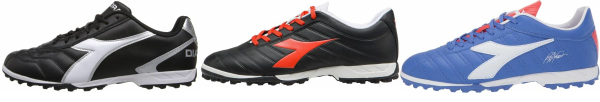 buy diadora turf soccer cleats for men and women