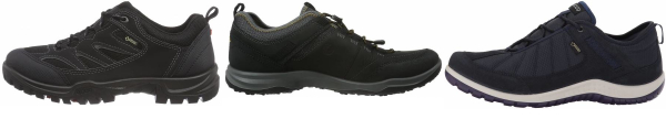 buy ecco gore-tex hiking shoes for men and women