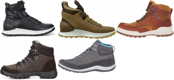 buy ecco hiking boots for men and women