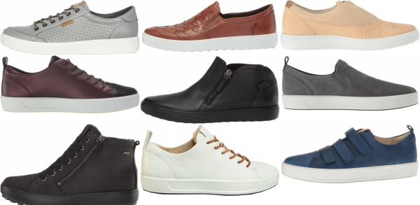 buy ecco soft sneakers for men and women