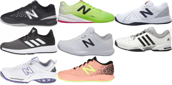 buy x-wide all court tennis shoes for men and women