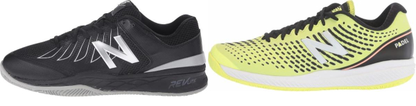 buy x-wide black tennis shoes for men and women