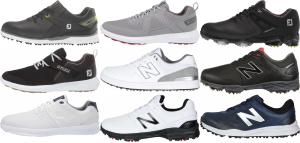 buy x-wide golf shoes for men and women