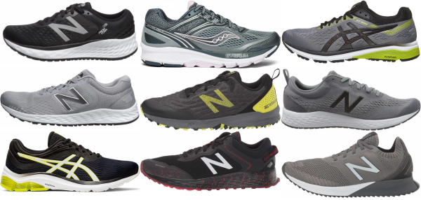 X-wide Midfoot Strike Running Shoes