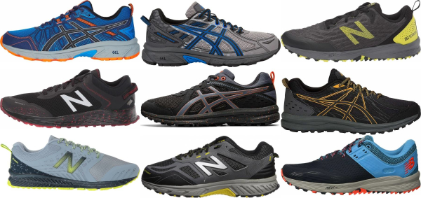 buy x-wide trail running shoes for men and women
