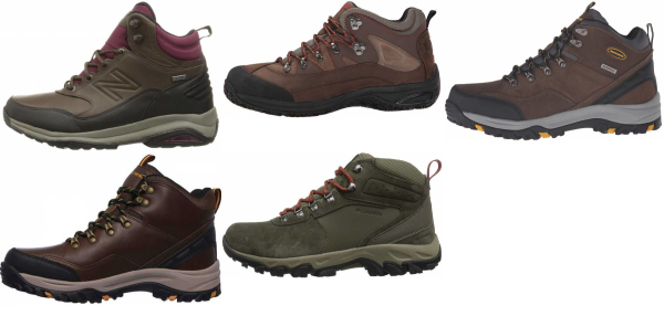 buy x-wide waterproof hiking boots for men and women