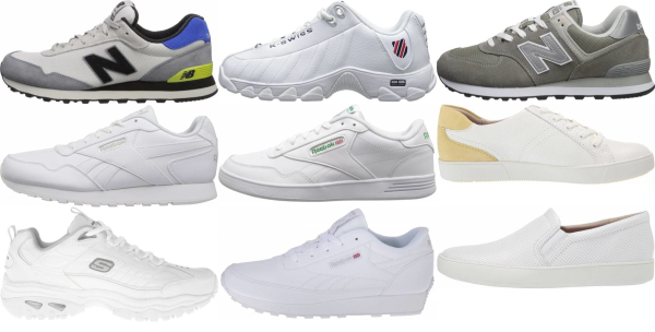 buy x-wide white sneakers for men and women