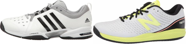 buy x-wide white tennis shoes for men and women