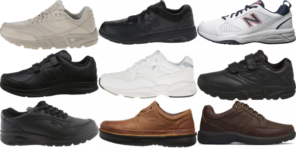 buy x-wide work walking shoes for men and women