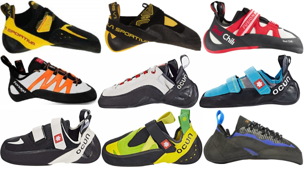 buy face climbing shoes for men and women
