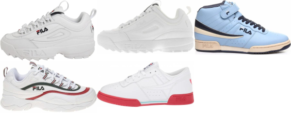 Save 59% on Fila Cheap Sneakers (7