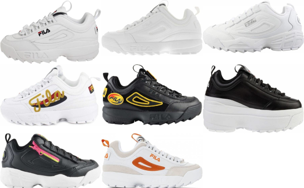 buy fila disruptor sneakers for men and women