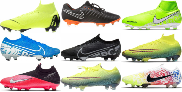 buy firm ground flyknit  soccer cleats for men and women