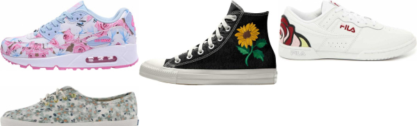 buy floral sneakers for men and women