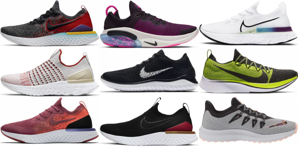 buy flyknit running shoes for men and women