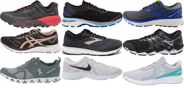 buy foot pain running shoes for men and women