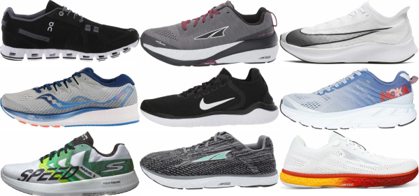 buy forefoot/midfoot strike running shoes for men and women