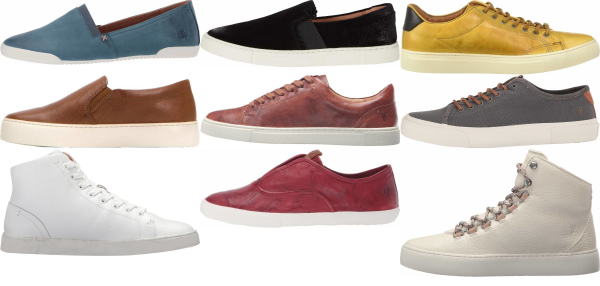 buy frye leather sneakers for men and women