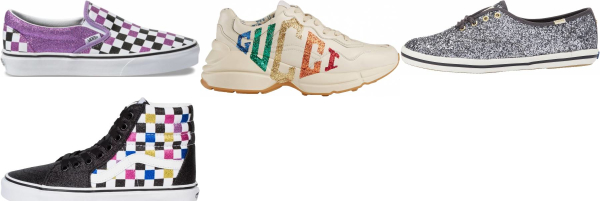 buy glitter sneakers for men and women