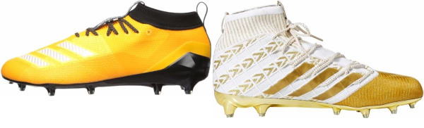 buy gold adidas football cleats for men and women