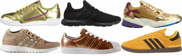 buy gold adidas sneakers for men and women