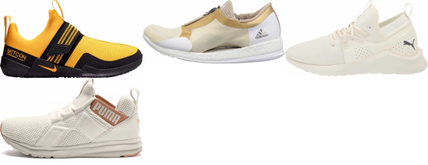 buy gold cross-training shoes for men and women