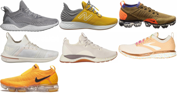 buy gold daily running shoes for men and women