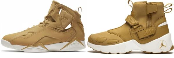 buy gold jordan sneakers for men and women