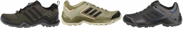 buy green adidas hiking shoes for men and women