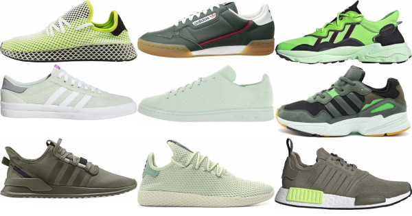 buy green adidas sneakers for men and women
