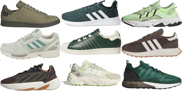 adidas shoe green
