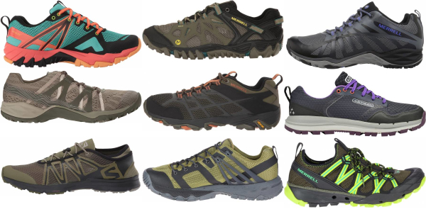 buy green breathable hiking shoes for men and women