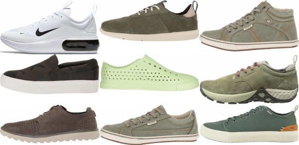 buy green casual sneakers for men and women