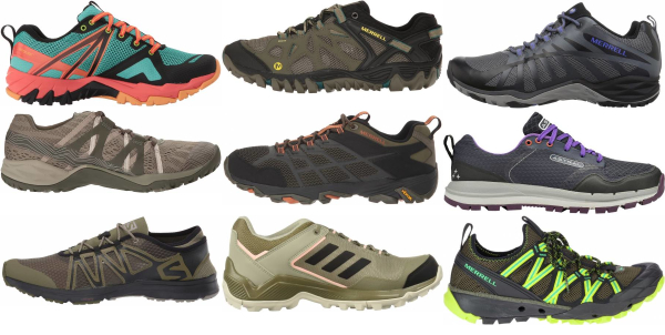 buy green cheap hiking shoes for men and women