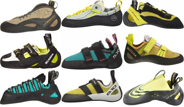 buy green climbing shoes for men and women